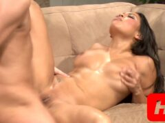 Adriana Gets Her Latina Pussy Pumped
