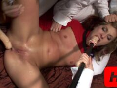 Chelsie Gangfucked By Wild Girls